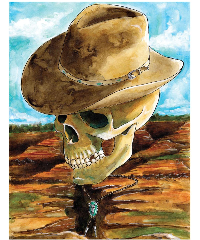 Country Music Skull