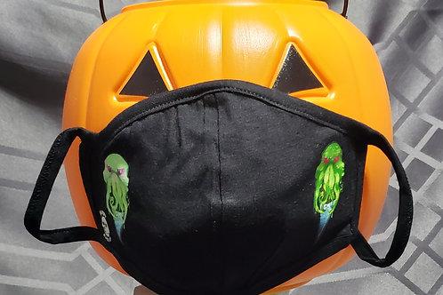 Cthulhu & OwO Cthulhu Mask - 2 Layer