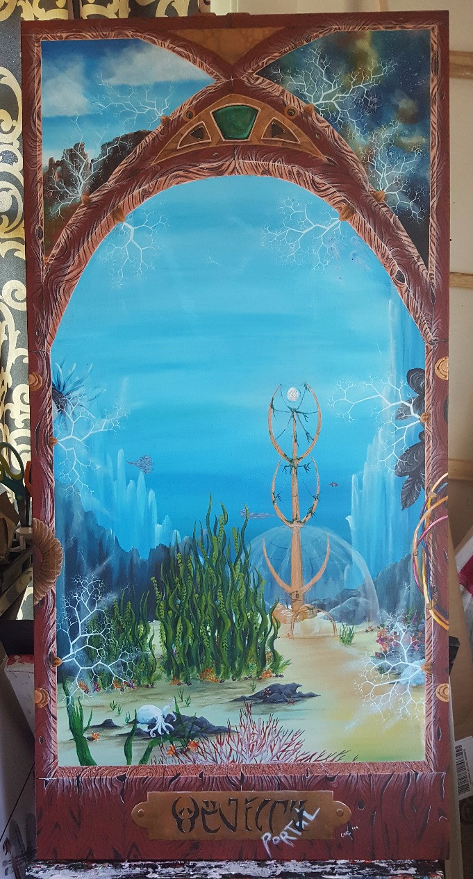 ThePortal_AcrylicPainting