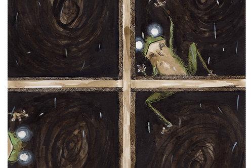 Creepy Frogs - 8x10 Laser Print