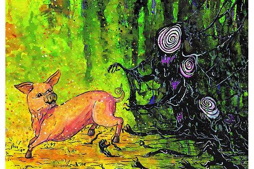 Little Piggy - Fine Art Print