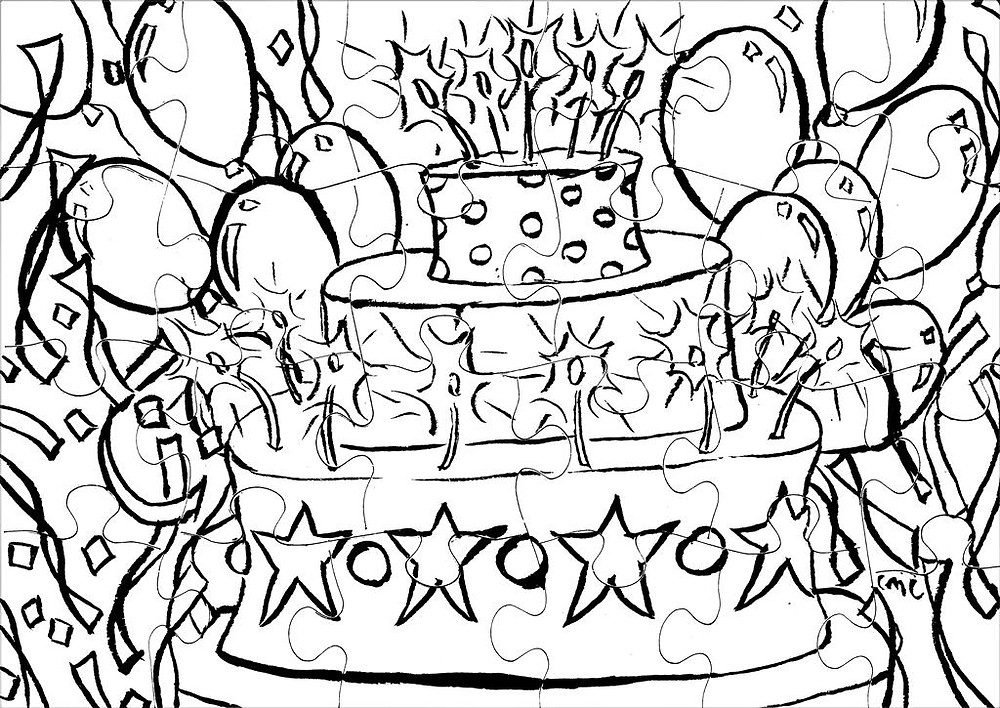 birthdaycake_colormepuzzle