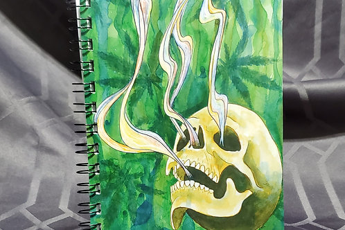 Baked Skull - Notebook
