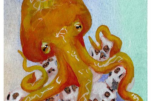 Octopus' Treasure - Prints