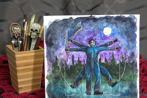 Vitruvian man - Friday 13th