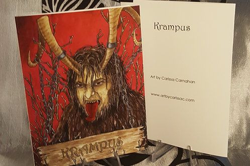 Krampus - Greeting Card