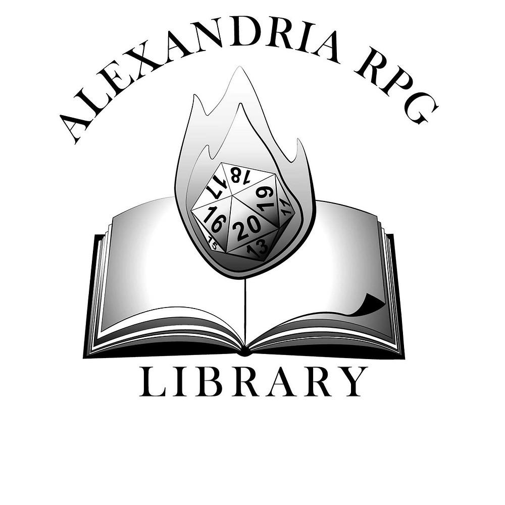 AlexandriaRPGLibrary_Logo1