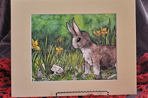Spring Bunny - Original