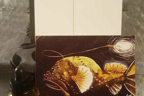 Guiding Light: Deep Sea Anglerfish - Postcard