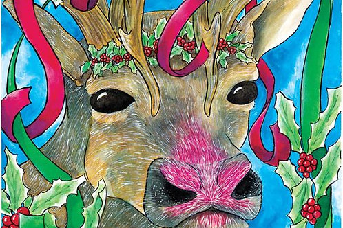 Rudolph - 8x10 Laser Print
