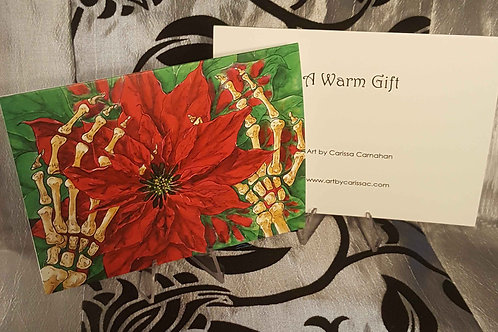 A Warm Gift - Greeting Card
