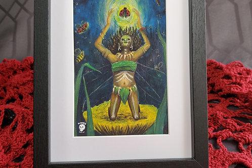 Voodo Fairy - Framed Print