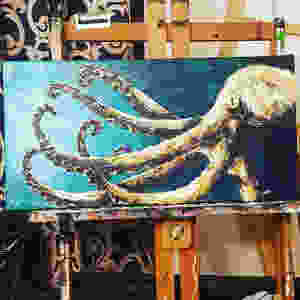 smallOctopus_acrylicPainting