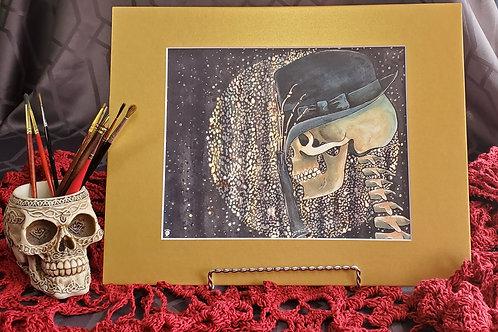 Pop Music Skull - Fine Art Print