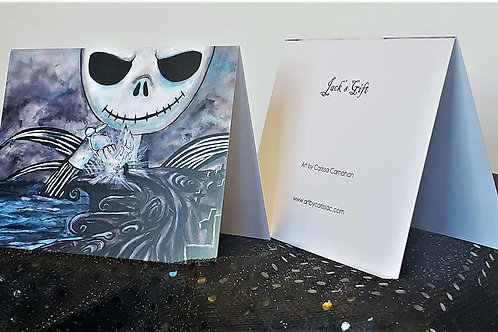 Jack's Gift - Greeting Card