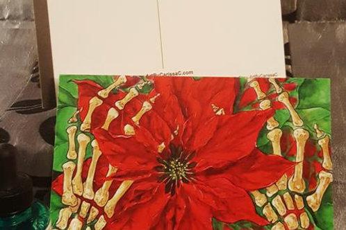 A Warm Gift - Postcard