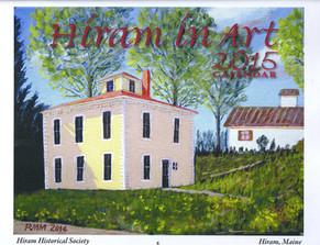 Hiram Maine in Art