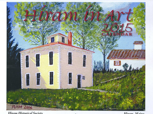 Hiram in Art 2015 (color) Calendar