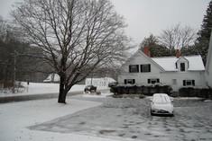 First snow rain ice 12 Nov 2019