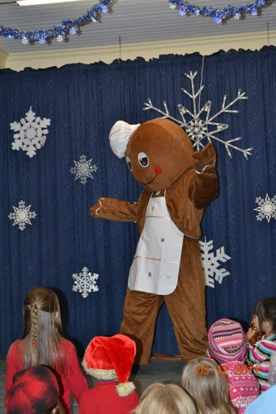 Gingerbread Man in Limerick, Maine
