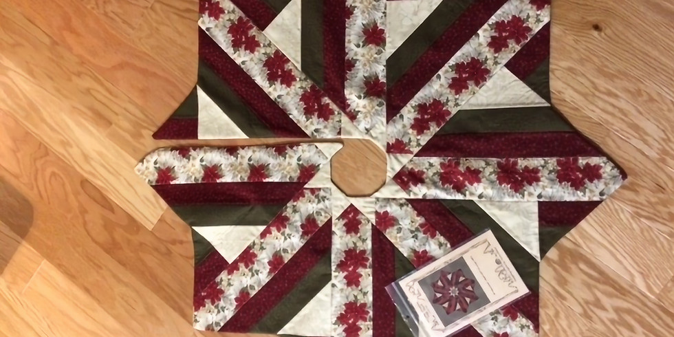 CLASS: Holiday Dressing Tree Skirt