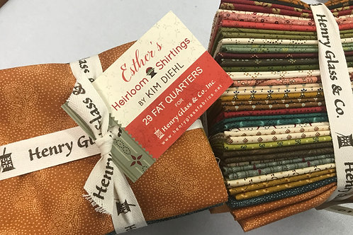 Esthers Heirloom Shirtings by Kim Diehl - Fat Quarters