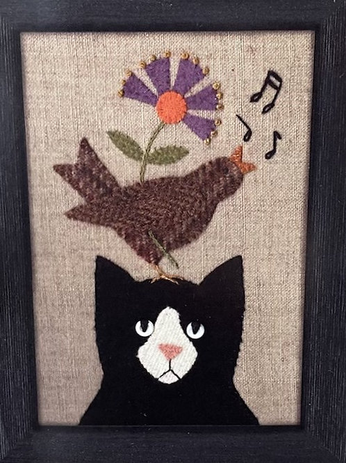 """""""Song for Tuxedo"""" Itty Bitty Pattern"""