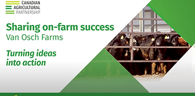 Sharing on-farm success. Van Osch Farms: Brendon and Kurt Van Osch share how the Partnership helped them access cost-share funding to construct an on-farm wash bay to help manage biosecurity risks.