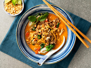 Thai Curry Beef 'Ramen'