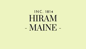 10/5 Hiram Planning Board Public Hearings