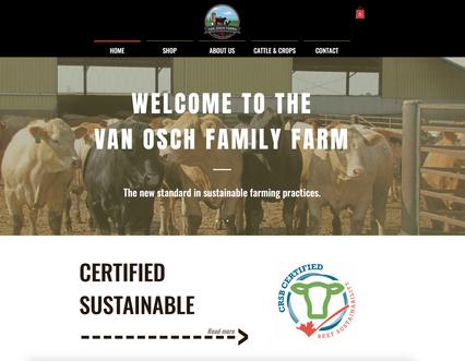 Van Osch Farms Website