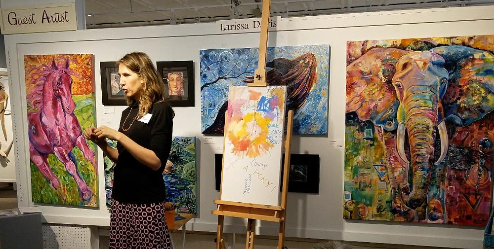 Larissa Davis - Guest Artist at Gallery 302