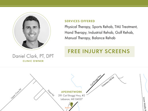 Chamber Welcomes Newest Member - ApexNetwork Physical Therapy, Lebanon