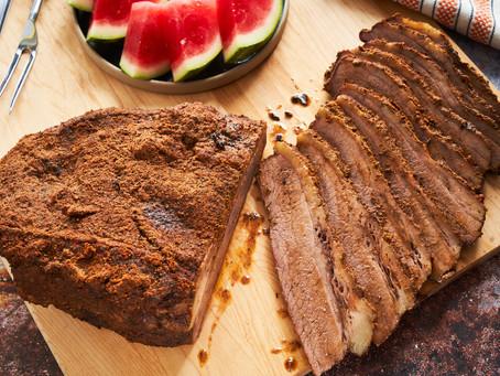 Kettle-Smoked Brisket