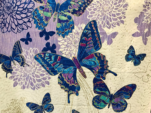 Shimmer by Northcott Studio ~ Butterfly Panel