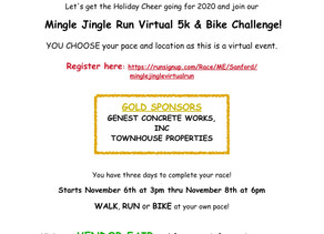 Mingle Jingle Run Virtual 5k & Bike Challenge - St. Thomas School annual 5k
