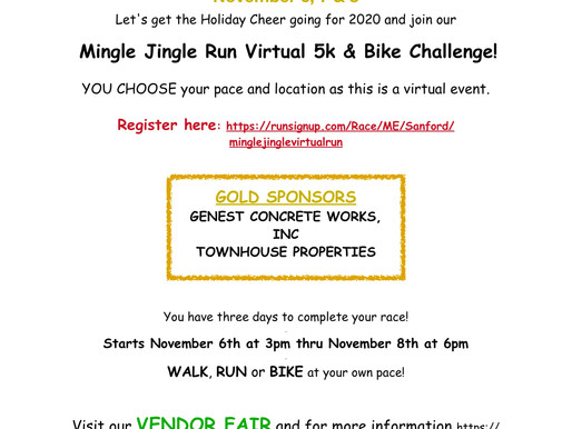 Mingle Jingle Run Virtual 5k & Bike Challenge - St. Thomas School annual 5k
