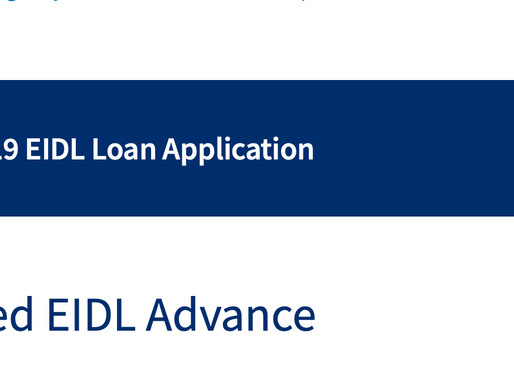Did you receive only pary the $10k EIDL Advance? SBA to contact you to apply for the remaining.