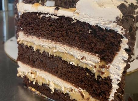 Milky Way chocolate cake 😍