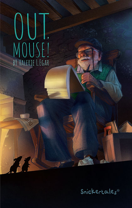 Out, Mouse! By Valerie Egar