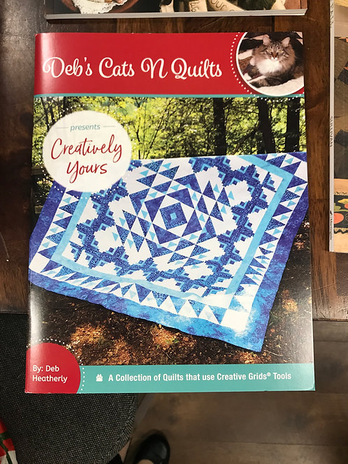 Creatively Yours-  Deb's Cats N Quilts