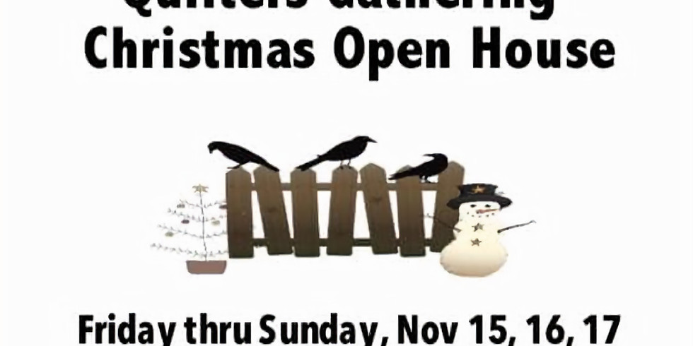 Quilters Gathering Christmas Open House