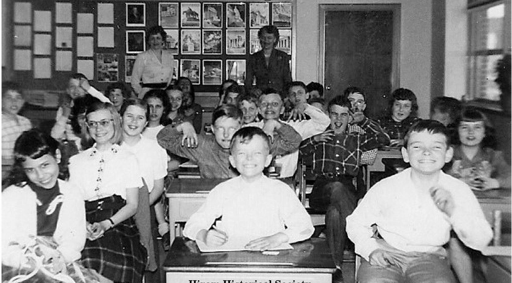 Porter Maine Elementry School 1953