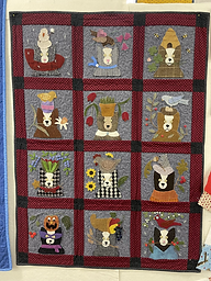 All Seasons Quilted Panel