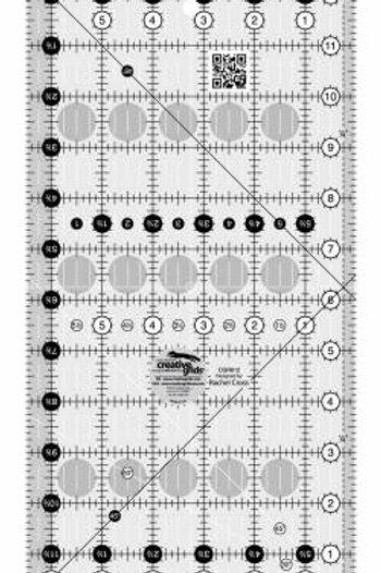 """6 1/2"""" x 12 1/2"""" ruler"""
