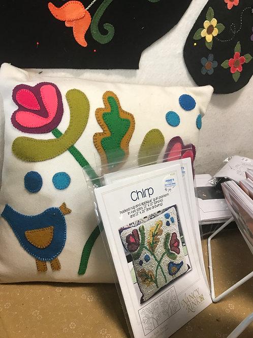 Nancy Rink Designs - Chirp Rug/Applique Pattern