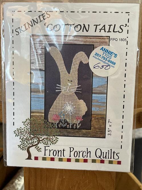 """Cotton Tails"" pattern"