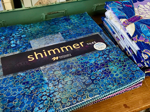 "Shimmer by Northcott Studio ~ Bundle of 10"" Tiles"