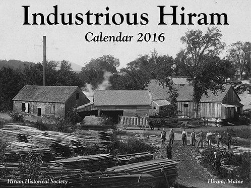 Industrious Hiram 2016 Calendar