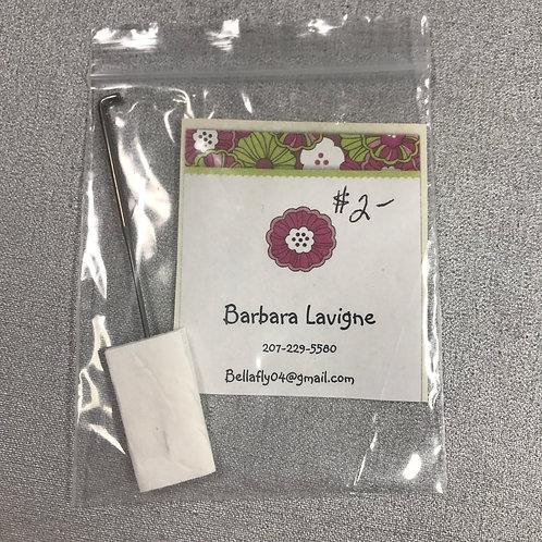Barbara Lavigne Punch Needle